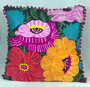 Pillow - Floral Embroidery