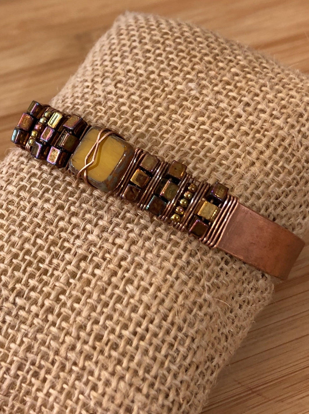 Bee Creek Designs - Beaded Cuff