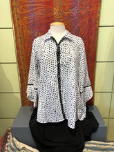 Load image into Gallery viewer, Dotted Wrap Shirt