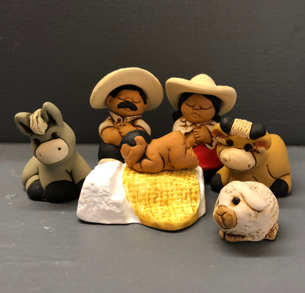 Nativity - Peru - Characato