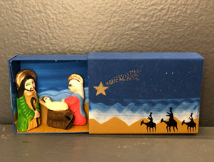 Nativity  - Peru - Matchbox
