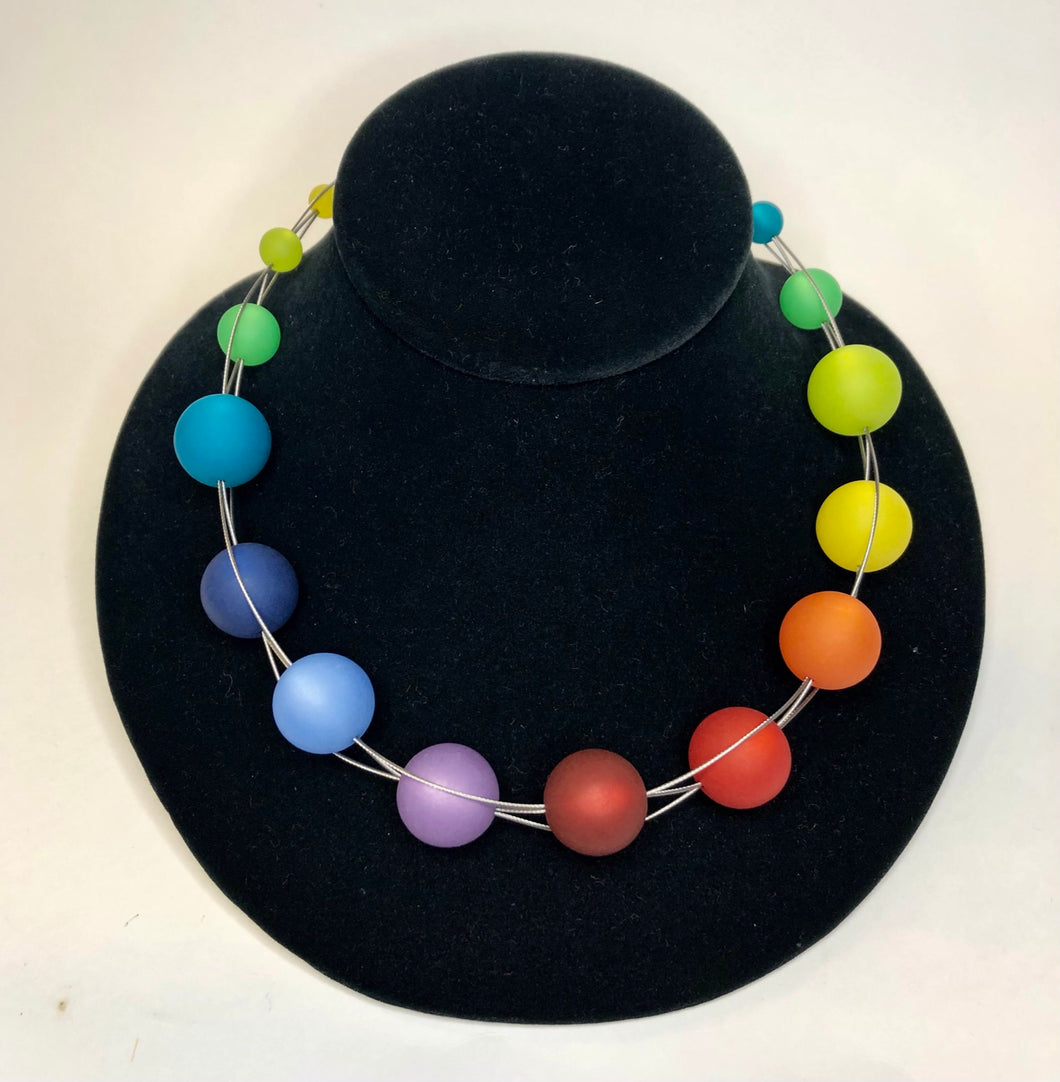 Phil Museum of Art - Necklace - Multi Colored Beads