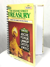 "Load image into Gallery viewer, Attic Journal - ""The Sesame Street Treasury"""