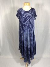 Load image into Gallery viewer, Short Sleeved Dress - Slate Blue