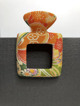 Load image into Gallery viewer, Kimono Hair Clip - Square Clip - Large