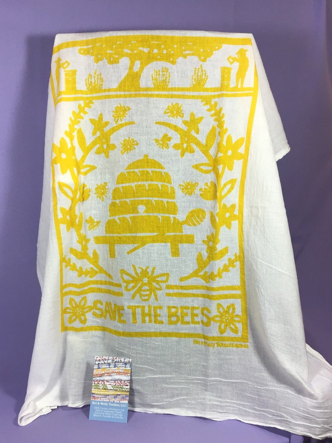 Dish Towel - Save The Bees