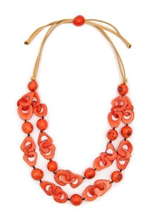 Tagua Johanna Necklace 2 Colors