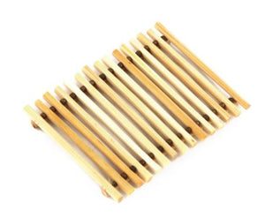 Bamboo Flat Soap Dish - 2 colors