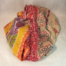 Load image into Gallery viewer, Kantha Scarf - Cotton