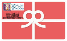 Load image into Gallery viewer, World's Window Online Gift Card