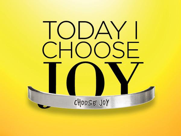 Quotable Cuff Bracelet - Today I Choose Joy