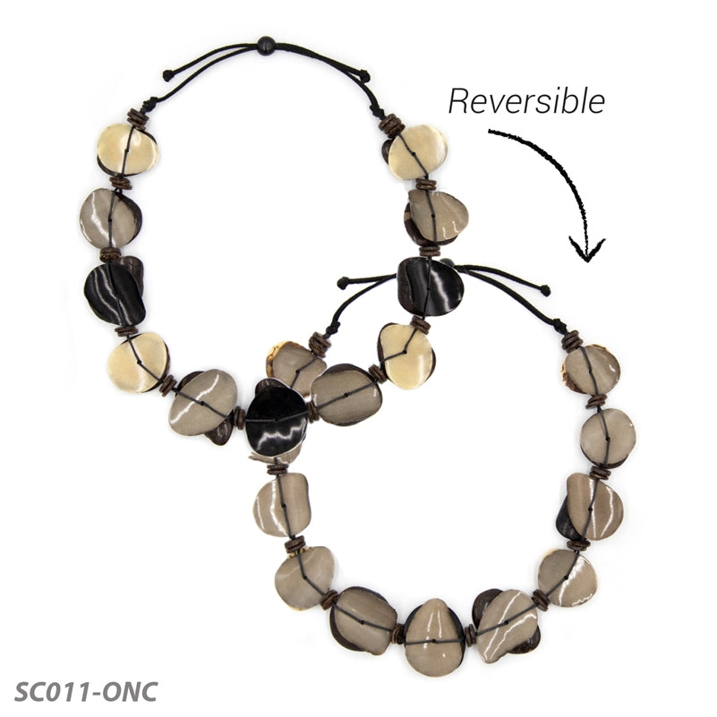 Tagua - Necklace - Narcisa - 2 colors