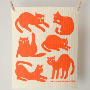 Sponge Cloth - Cats