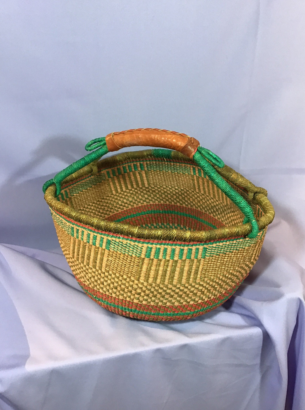Bolga Basket -  Market Shopper - Coco Mix