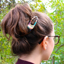 Load image into Gallery viewer, Kimono Hair Clip - Side Clip