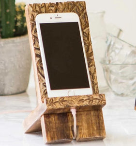Wooden Smartphone Stand