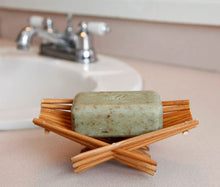 Load image into Gallery viewer, Bamboo Folding Soap Dish