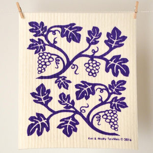 Sponge Cloth - Vines
