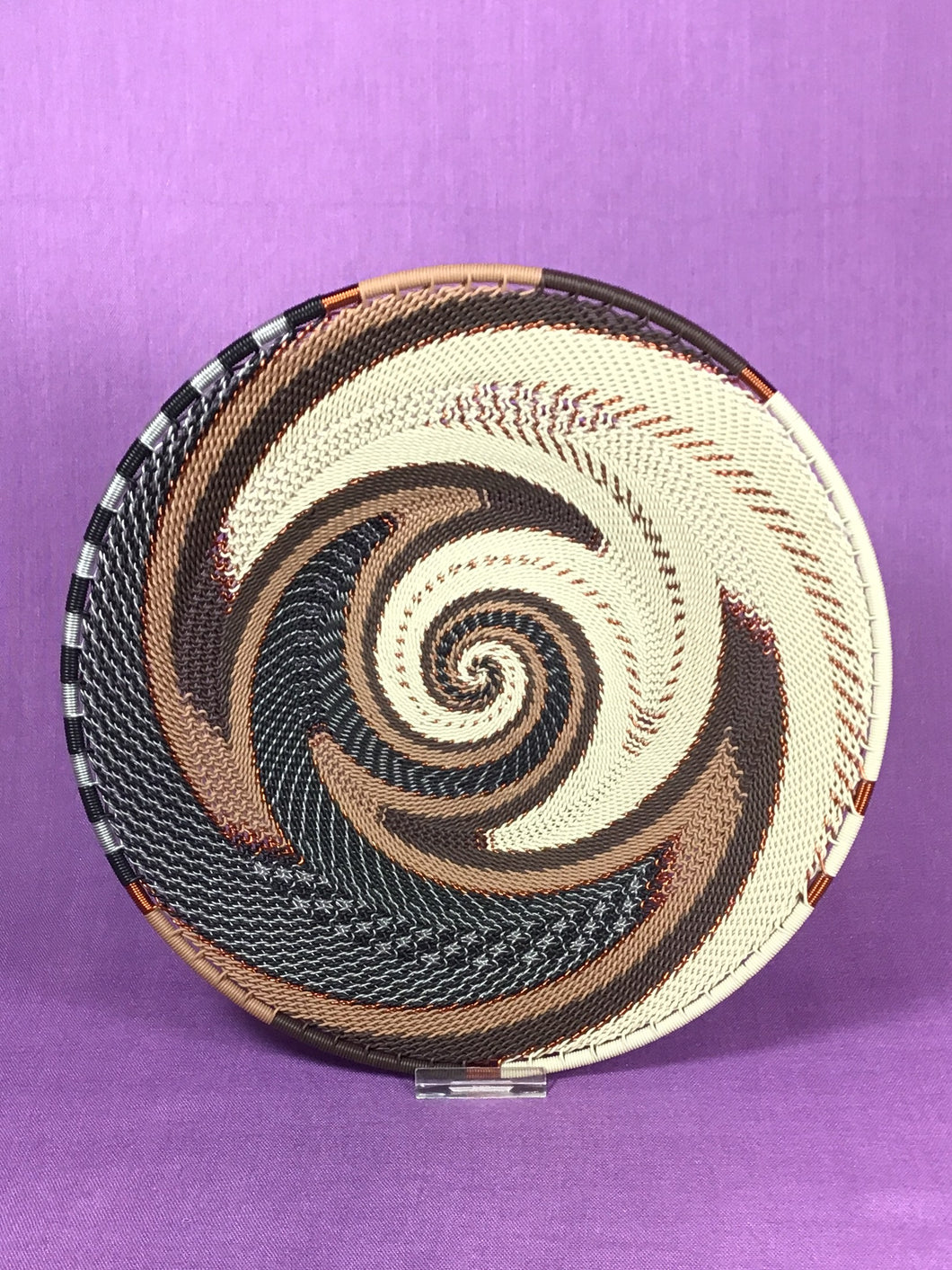 Telephone Wire Small Platter - 2 color patterns