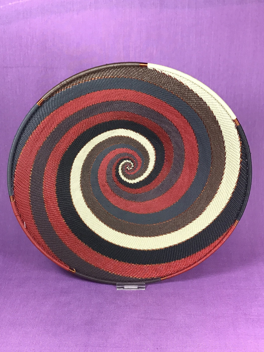 Telephone Wire Medium Platter - 1 color pattern