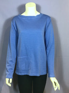 Boat Neck Pocketed Top