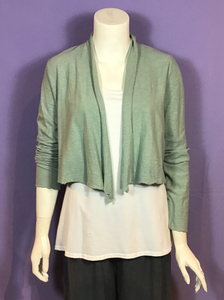 Crop Cross-over Cardigan