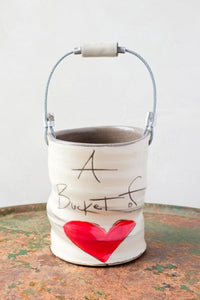 ZPots -  Large Bucket - Love