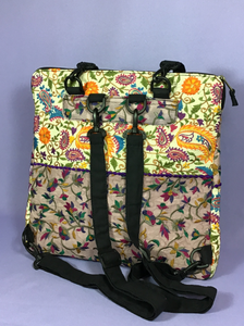 Embroidered Bag/Backpack