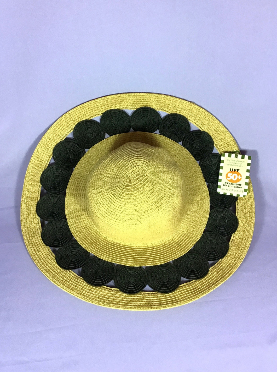 Sun Hat with Circle Accents