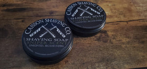 Buy Online Latest Premium Quality Shaving Soap - Sniper Scent  - The Preferred Bird