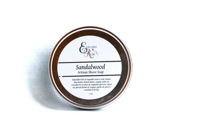 Buy Online Latest Premium Quality Sandalwood Artisan Shave Soap, Natural Shaving  - The Preferred Bird