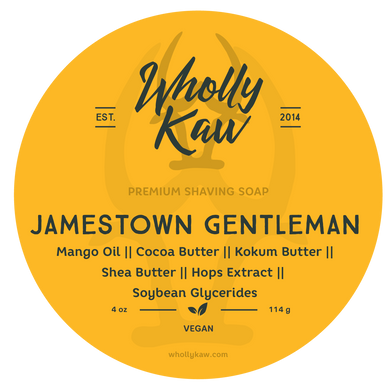 Buy Online Latest Premium Quality Jamestown Gentleman Shave Soap  - The Preferred Bird