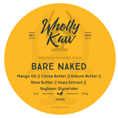 Buy Online Latest Premium Quality Unscented Bare Naked Shave Soap  - The Preferred Bird
