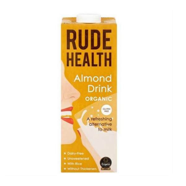 Rude Health - Organic Almond Drink (Dairy Free) - 1 Litre