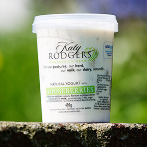 Gooseberry Yoghurt - Katy Rodgers -Knockraich Farm - 490g