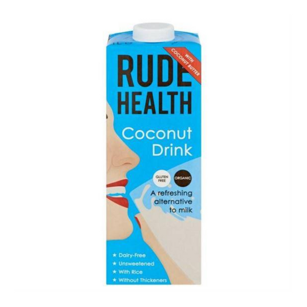 Rude Health - Organic Coconut Drink (Dairy Free) - 1 Litre