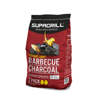 Supagrill Instant Light Charcoal - (2x 0.85kg Bags)