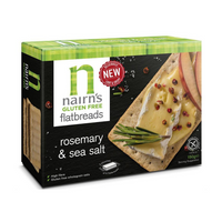 Nairns Flatbreads - Rosemary & Sea Salt - Gluten Free