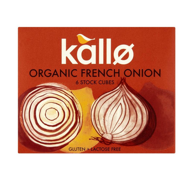 Kallo Organic French Onion Stock Cubes - 6 Pack