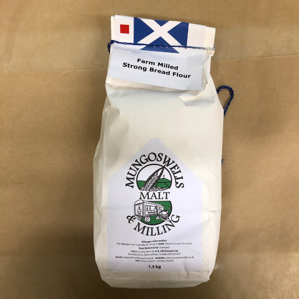 Strong Bread Flour - Mungoswells - North Berwick - 1.5kg