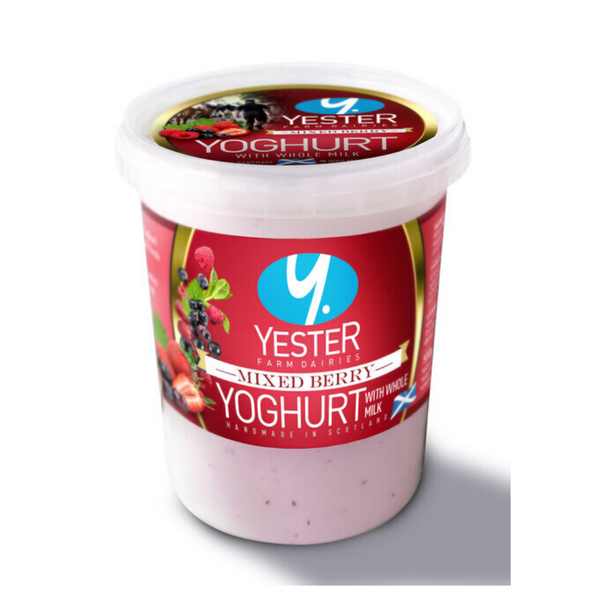 Mixed Berry Yoghurt - Yester Farm - Haddington