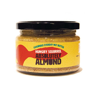 Almond Butter by Hungry Squirrel - Made in Deeside - 250g