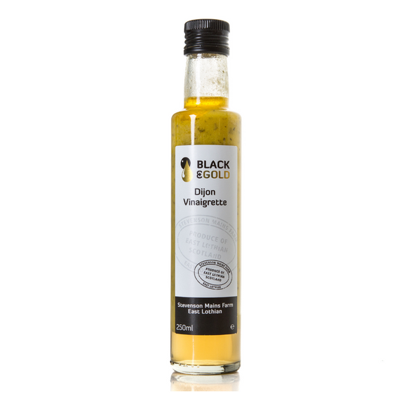 Black & Gold Dijon Vinaigrette - Made in Haddington - 250ml
