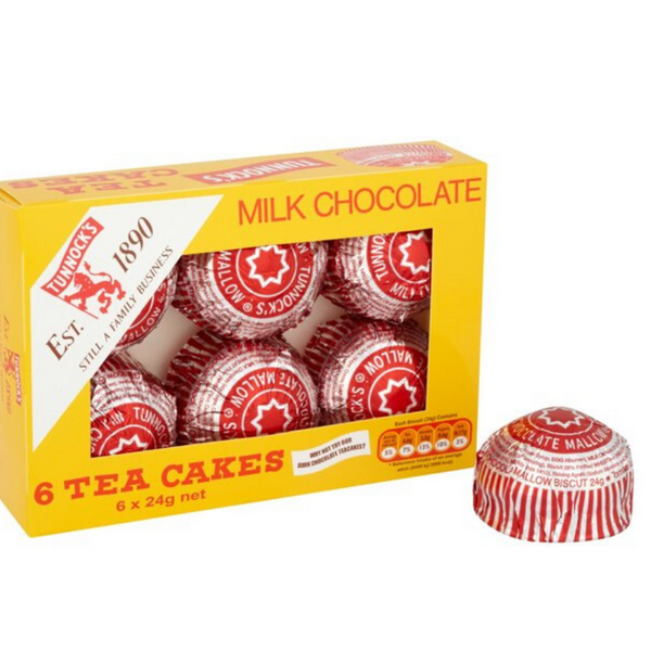 Tunnocks Tea Cakes - 6 Pack