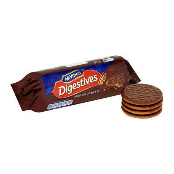 Milk Chocolate Digestive Biscuits - McVitie's - 266g