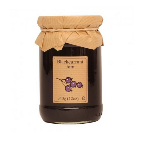 Blackcurrant Jam - Edinburgh Preserves - 340g