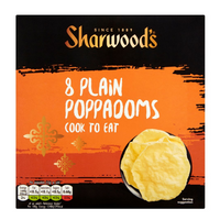 Sharwoods Poppadoms - Cook at Home - 94g