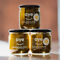 Bread and Butter Pickles - Made in Edinburgh - Aye Pickled - 425g