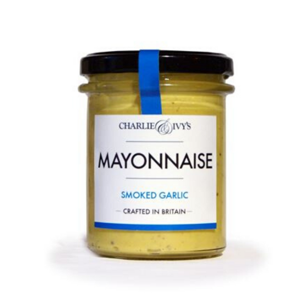 Smoked Garlic Mayonnaise - Charlie & Ivy's - 190g
