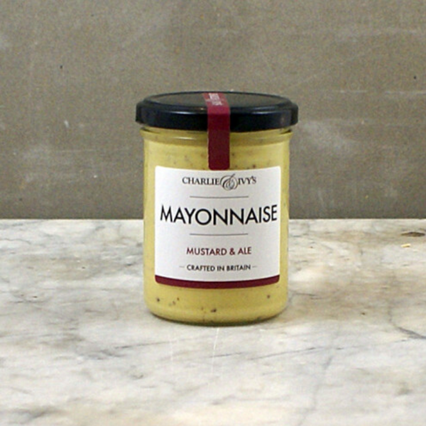 Mustard & Ale Mayonnaise - Charlie & Ivy's - 190g